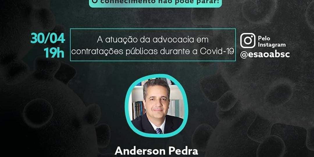 COVID-19 x Atuação da Advocacia em Contratações Públicas | Live